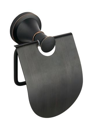 Держатель для бумаги с крышкой настенный