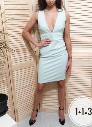Jane norman крутое миди платье м 46-48р открытая спина шнуровк...