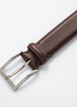 Мужской пояс / ремень uniqlo ! коричневый