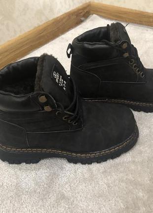 Ботинки зимние подростковые новая коллекция