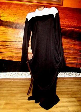 Платье монахини монашки р xl ролевые игры косплей маскарад