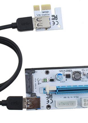 Rizer PCI 1x16 для видеокарт