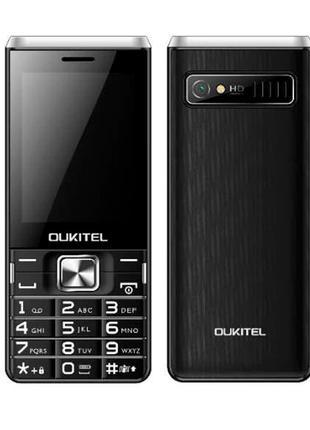 Мобильный телефон с хорошей батареей OUKITEL L2801 black