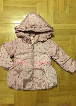 Акция. куртки для девочек. венгрия