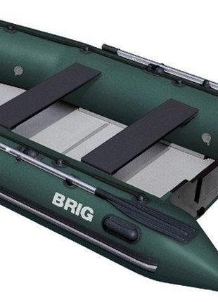 Моторная лодка с надувным настилом Brig B350W