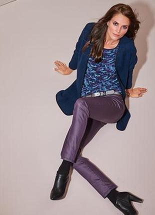 Практически даром, джинсы, цвет баклажан,  tcm, tchibo, германия
