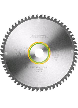 Festool Диск пиляльний універсальний 260x2,5x30 W60 494604
