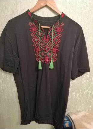 Чоловіча вишиванка (Мужская вышиванка) XL