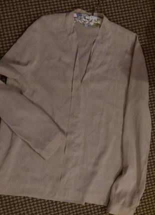 Шовкова блуза caspar david