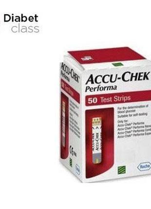 Тест-полоски Accu-Chek Performa, 50 шт