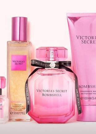 Набор bombshell victoria's secret в подарочной упаковке духи
