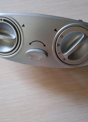 Панель управления тепловентилятора всборе.