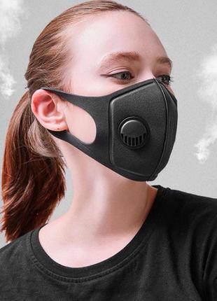 Защитная клапан маска фильтр угольный