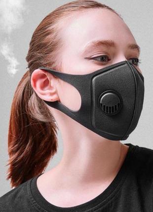 Защитная маска с клапаном