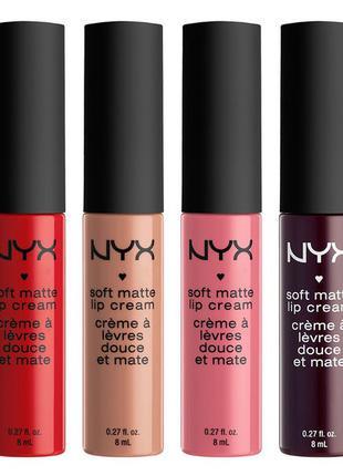 Матовый крем для губ NYX Soft Matte Lip Cream распродажа