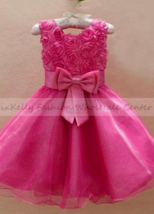 Распродажа нарядные пышные платья для девочки
