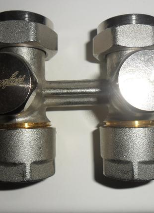 Узел нижнего подключения радиатора Danfoss RLV-KS,1\2-3\4,прямой