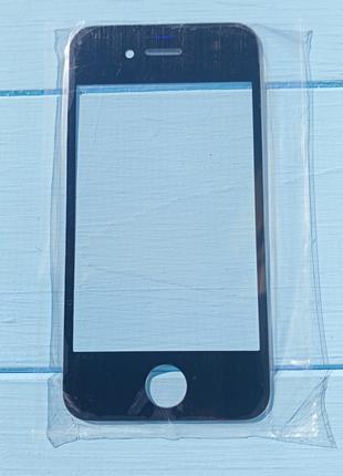 Стекло корпуса Apple iPhone 4, 4S Black