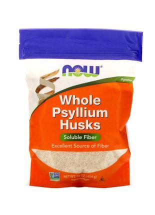 Now Foods, шелуха семян подорожника, 454 г