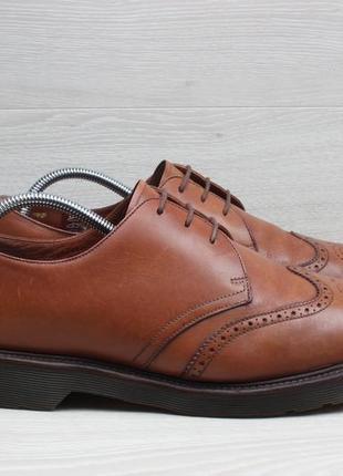 Мужские кожаные туфли броги dr. martens england оригинал, разм...