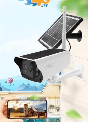 Уличная аккумуляторная IP камера видеонаблюдения UKC Y4P-4G 2 ...