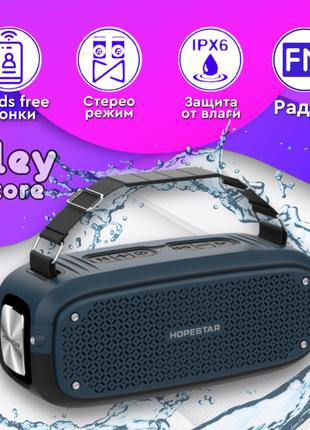 Портативная блютуз колонка беспроводная Bluetooth Hopestar A21...