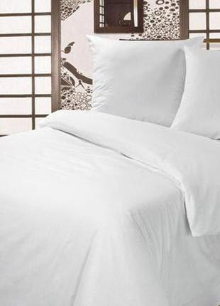 """Комплект постельного белья Бязь""""Gold White"""" 100% хб, плотная ОПТ"""