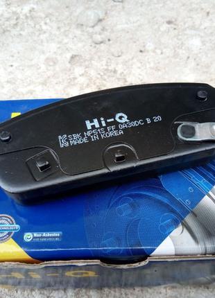 Тормозные задние колодки Hi-Q Шевроле Круз Т-300