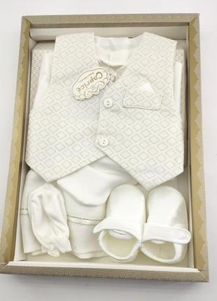 Набор для крещения новорожденного подарок