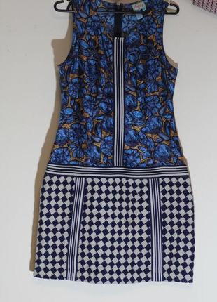 Шикарное платье из комбинированной ткани 100% шелк +100% шерст...