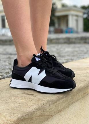 Кроссовки new balance 327 black