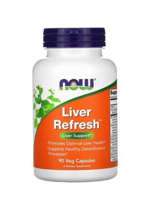 Здоровье печени, Liver Refresh, Now Foods, 90 капсул