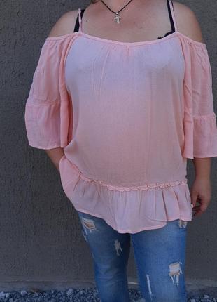 Блузка на плечи