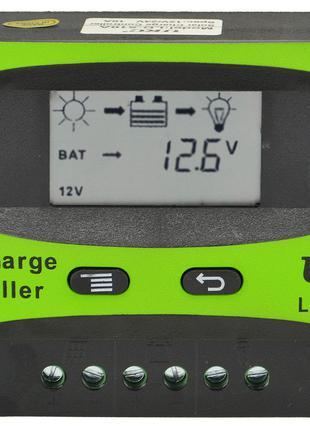 Солнечный контроллер UKC 10A LD-510A, контроллер для солнечной...