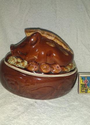 Супница керамика подарок