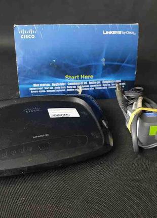 Сетевое оборудование Wi-Fi и Bluetooth Б/У Linksys WRT54G2