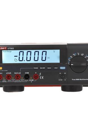 Цифровой настольный мультиметр Uni-T UT803 (UTM 1803) (mdr_6454)