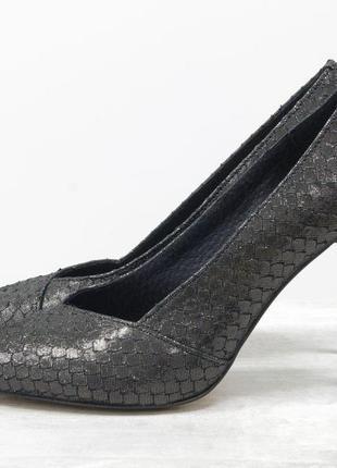 Туфли на шпильке из натуральной эксклюзивной итальянской кожи ...
