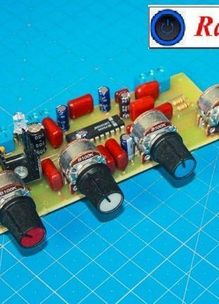 Стереофонический темброблок НЧ ВЧ (LM1036N)