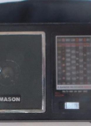 Радиоприемник радио фм укв св дв кв тв Mason радиоточка