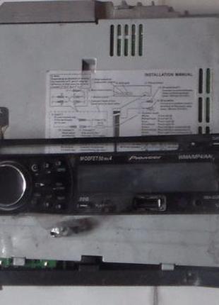 Магнитола диск cd плеер проигрыватель usb pioneer deh-2250sd
