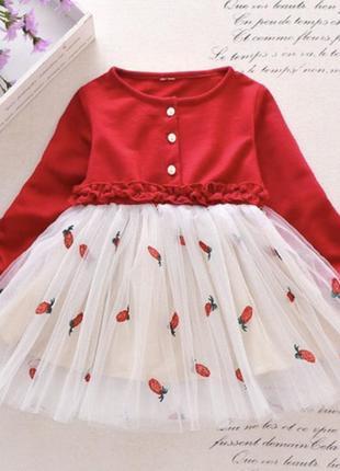 Платье фатин модное