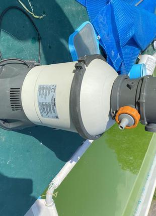 Насос с фильтром к бассейну