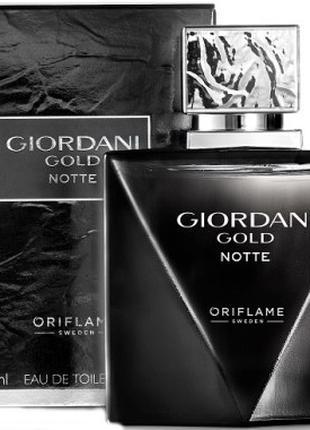 Туалетная вода giordani gold notte джордани голд нот орифлейм