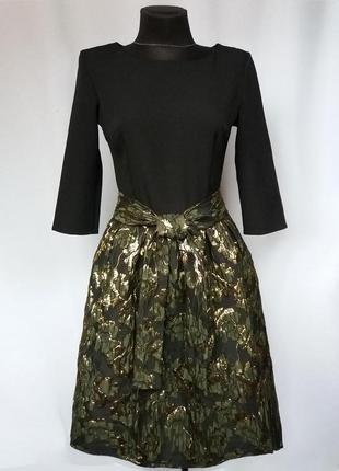 Суперцена. красивое платье, жаккардовая юбка. турция. новое, р...