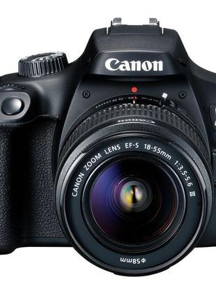 Цифр. фотокамера зеркальная Canon EOS 4000D + объектив 18-55 D...