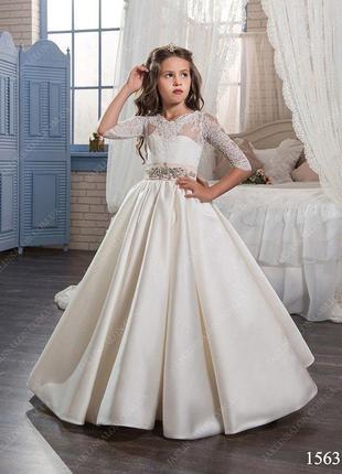 Очень красивое, нарядное платье для девочки