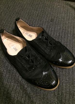 Fiore туфли оксфорды броги