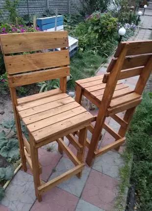 Барные стулья в стиле лофт.