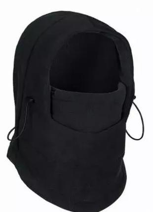 Балаклава зимняя флисовая до -20 маска, подшлемник, шапка флис...